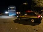 Ônibus com chassi adulterado é apreendido pela PRF em Gurupi