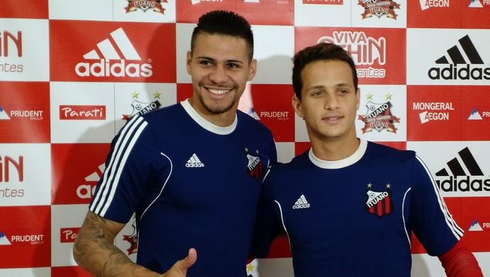 Léo e Luiz Felipe serão titulares no Ituano (Foto: Emilio Botta)