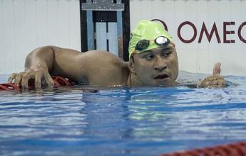 """""""Zerado"""" de dor, Clodoaldo Silva diz que nadará quatro provas no Rio 2016"""
