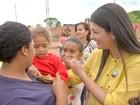 Rose disse que prioridade é construir casa e creche para famílias de favela