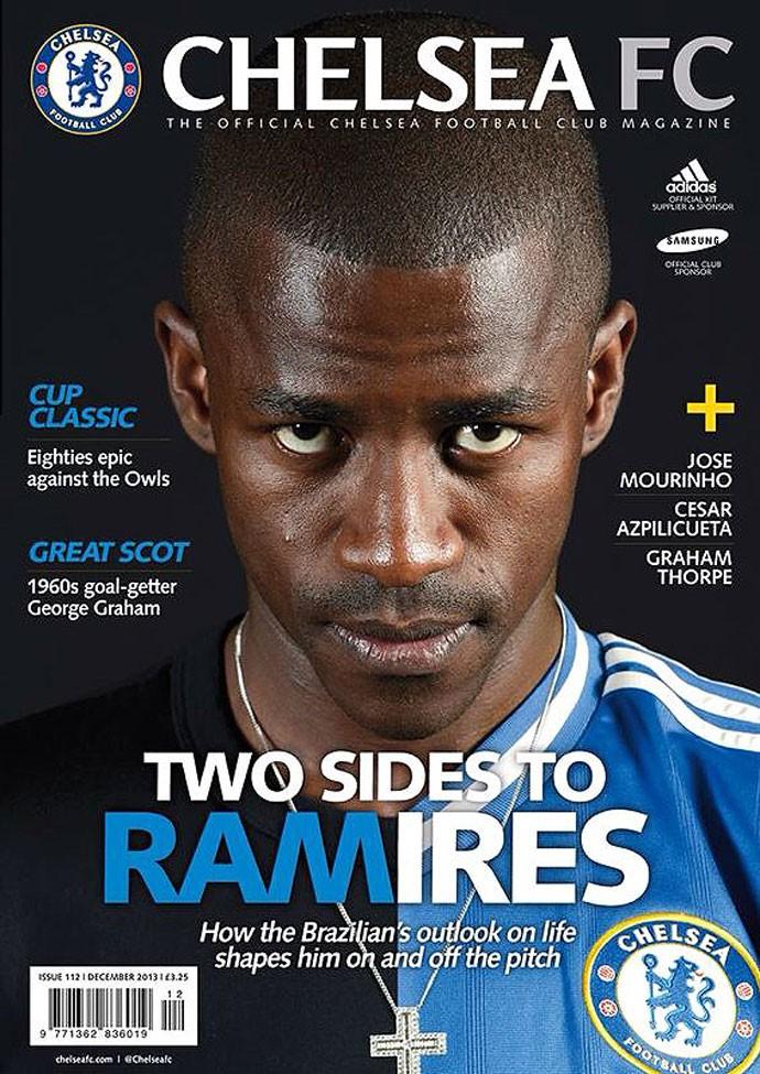 FUTEBOL - Ramires Capa  ChelseaFC
