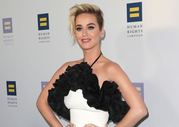 Katy Perry no evento do Humans Rights (Foto: Getty Images)