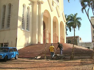Igreja vai alugar criptas em Araraquara (Foto: Reprodução/EPTV)