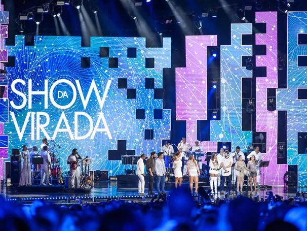 Show da Virada celebra a chega de 2017 em grande estilo (Foto: Globo)