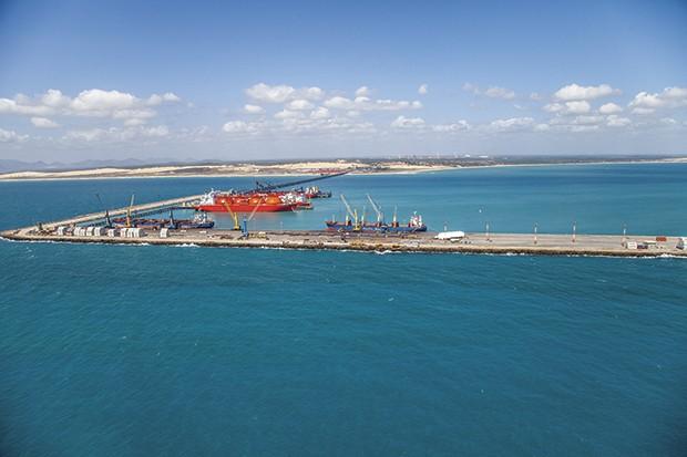 Porto do Pecém (Foto: Divulgação)