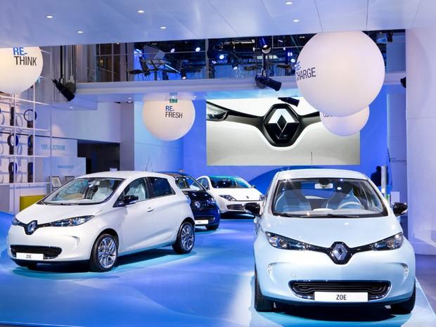 Renault Zoe é a proposta da marca francesa de um carro elétrico 'a preços populares' (Foto: Divulgação)