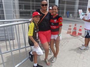 família (Foto: Lílian Marques/G1)