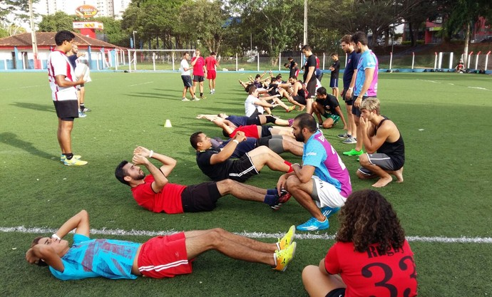 Rugbi, Rugby, Cowboys Rugby, Presidente Prudente, seletiva (Foto: Fábio Reis / Cedida)