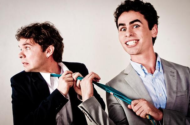 Igor Epifânio e Anderson Dy Souza vencem os próprios preconceitos para viverem o casal gay  (Foto: Divulgação)
