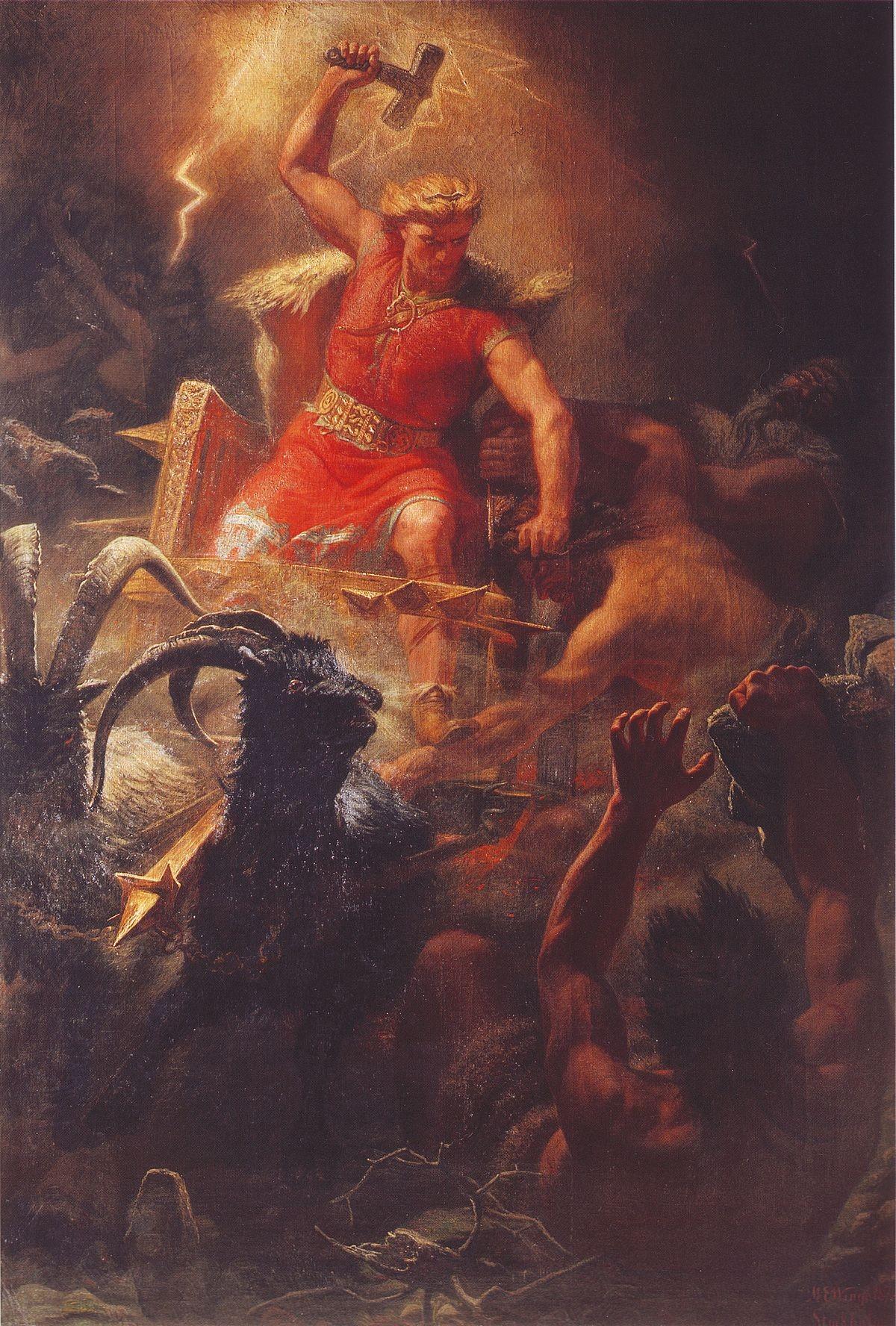 Uma batalha liderada por Thor (Foto: Reprodução)
