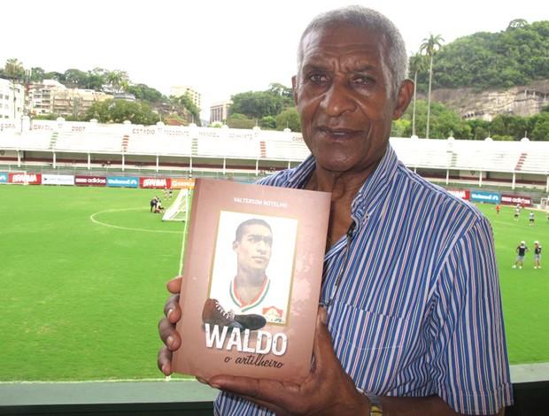 Waldo, maior artilheiro do Fluminense (Foto: Edgard Maciel / Globoesporte.com)