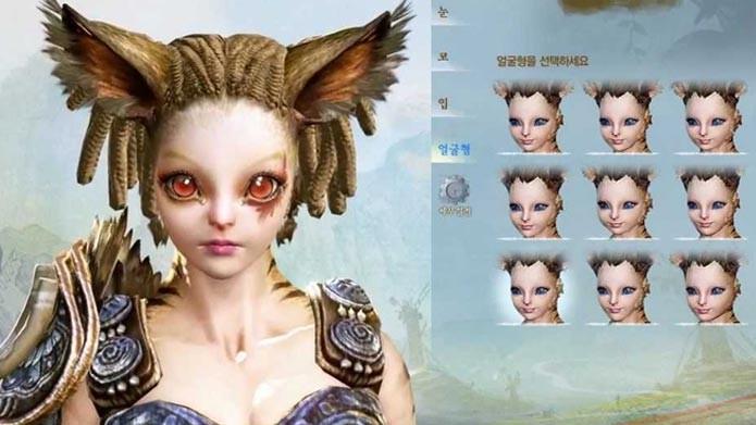 O primeiro destaque de ArcheAge é seu caprichado criador de personagens (Foto: Divulgação)