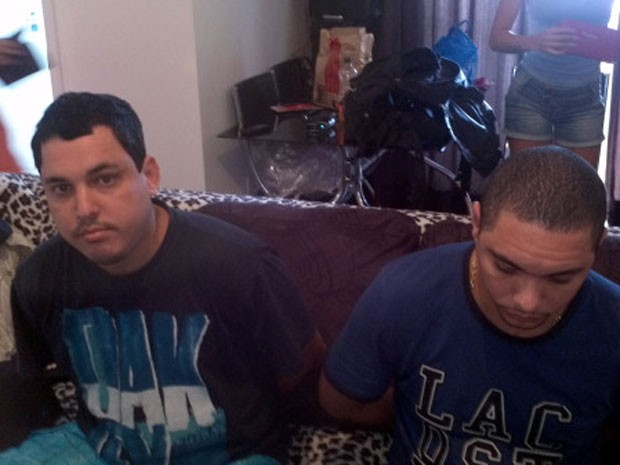 Nando Bacalhau e Saulo foram presos em operação conjunta da polícia (Foto: Reprodução Twitter/ Bope)