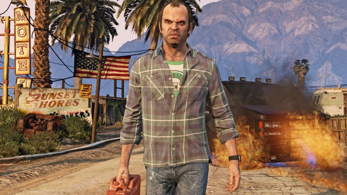 Após vários atrasos Trevor mostrará sua insanidade no PC em 24 de março (Foto: Divulgação)