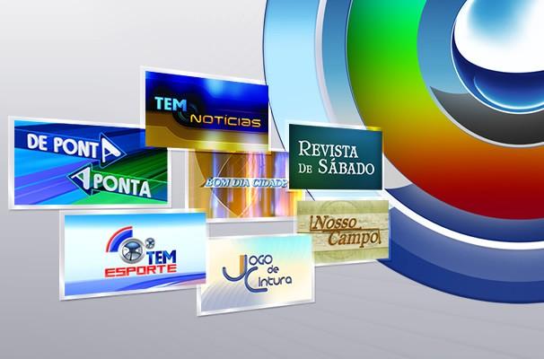 Programação da TV TEM (Foto: Arquivo / TV TEM)