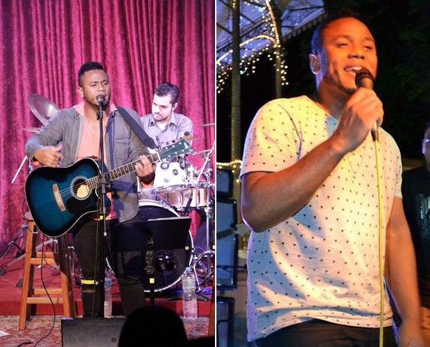 A música gospel também está no repertório de Thiago Costa (Foto: Arquivo pessoal)