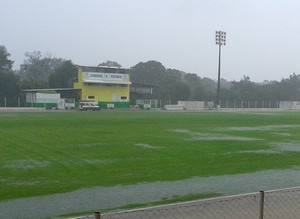 Chuva em Lucas do Rio Verde, Luverdense Passo das Emas (Foto: Assessoria/Luverdense Esporte Clube)