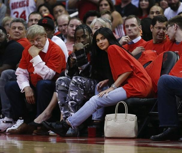Kylie Jenner e Travis Scott (Foto: Getty Images)