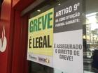 Greve mantém agências bancárias fechadas na Baixada Santista