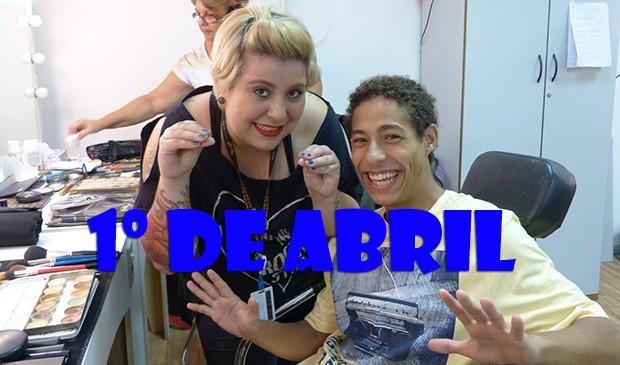 Pilha vira modelo e arrasa nas passarelas! (Foto: Malhação / TV Globo)
