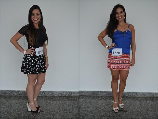 Monalisa Souza Lima - PB e Kessya Alves Dos Santos - PB (Foto: Gloria Moreira / Concurso Beleza Nordestina / Divulgação)