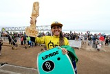 Isabela Sousa � vice na primeira etapa do Mundial de Bodyboard, no Chile