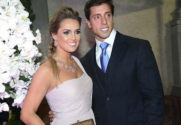 Karyn Bravo e André Loureiro (Foto: Cleiby Trevisan/ Revista QUEM)