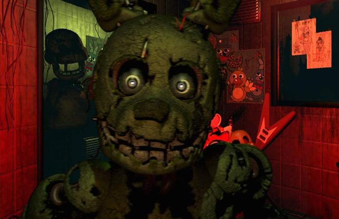 Five Nights at Freddy's 3 se passa 30 anos após o segundo jogo  (Foto: Divulgação)