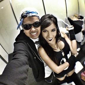 Duh Marinho e Anitta (Foto: Instagram/ Reprodução)