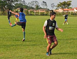 Atlético Vilhena treina para disputar a Copa Rondônia em Ji-Paraná (Foto: Priciele Venturini/Rede Amazônica)