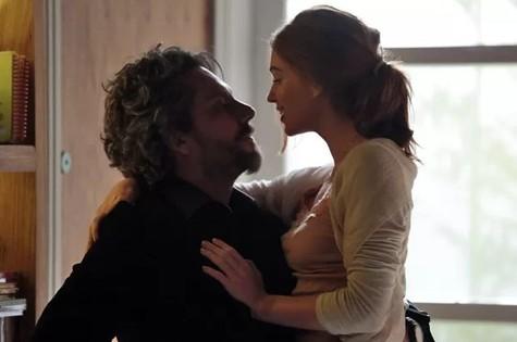 Alexandre Nero e Marina Ruy Barbosa em cena de 'Império' (Foto: Felipe Monteiro/TV Globo)