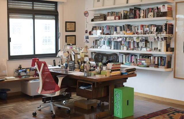O escritório de Marina Person (Foto: Camila Guerreiro)
