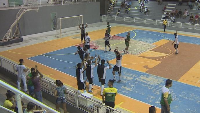 Êxodo e Betel estão na final da Copa Gospel de Futsal, no AP (Foto: Reprodução/TV Amapá)