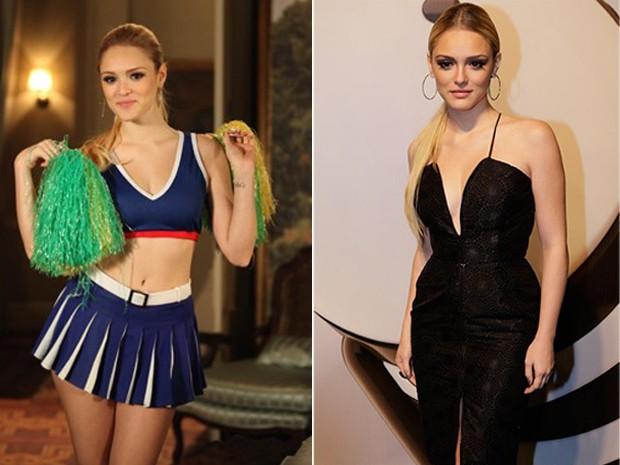 Em cena ou nos bastidores, Isabelle está sempre linda (Foto: Geração Brasil / TV Globo)