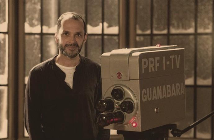 José Luiz Villamarim é o diretor artístico de 'Nada Será Como Antes' (Foto: Globo/Estevam Avellar)