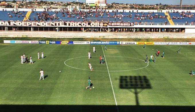 Anápolis x Caldense jogo de ida da segunda fase da Série D (Foto: Alex Joaquim / AA Caldense)