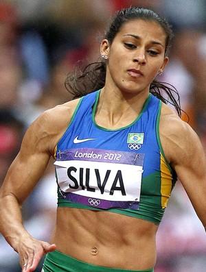 Ana Claudia Lemos 200m (Foto: EFE)