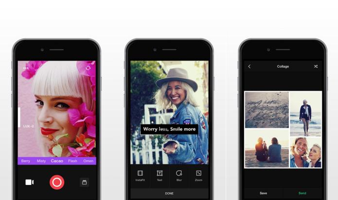Fotografe a aplique filtros em tempo real com o Camu (Foto: Divulgação/AppStore)