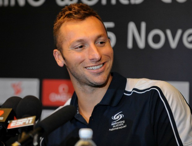 Ian Thorpe nata&#231;&#227;o  (Foto: AFP)