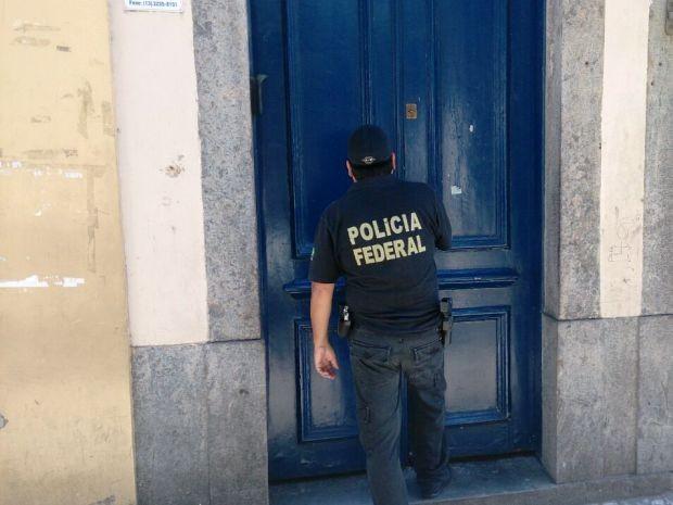 Operação Saga foi realizada em cidades da Baixada Santista (Foto: Orion Pires/G1)