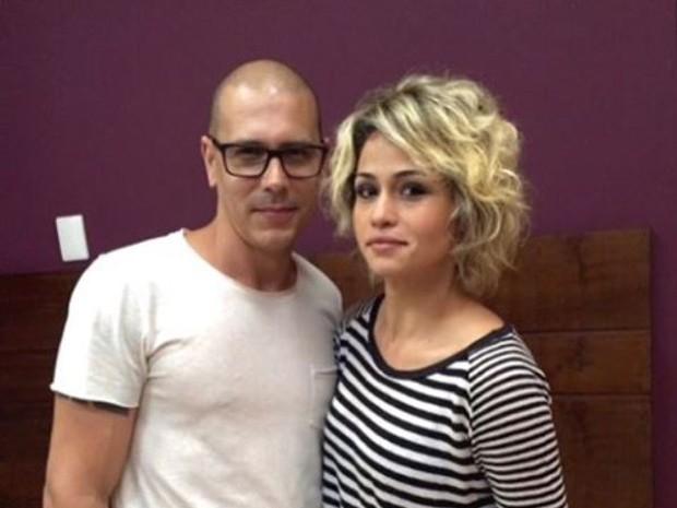 Nanda Costa em 'Espinosa' com Anderson Couto (Foto: Reproduo/Instagram)