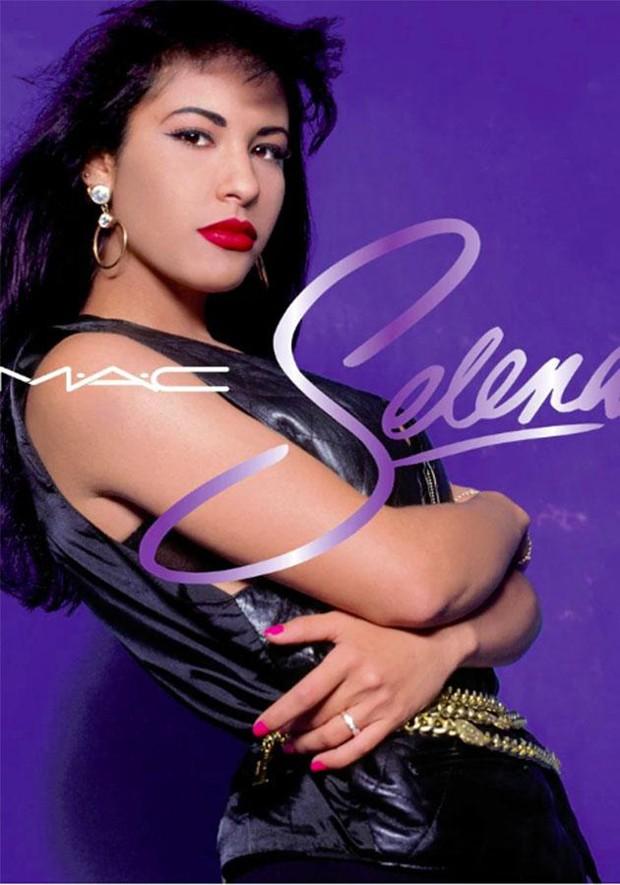 Linha de maquiagem de Selena (Foto: Reprodução)