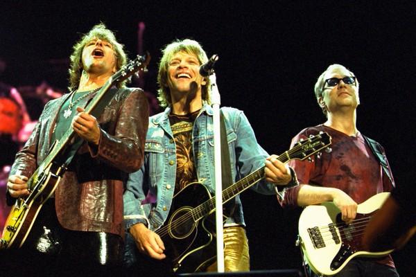 Um show do Bon Jovi na Austrália em 2001 (Foto: Getty Images)