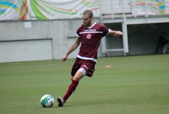 América-RN - Bruno Formigoni, volante (Foto: Canindé Pereira/Divulgação)