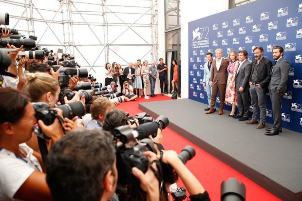 Elenco de 'Evereste' tenta defender o filme em Veneza (Foto: Getty Images)
