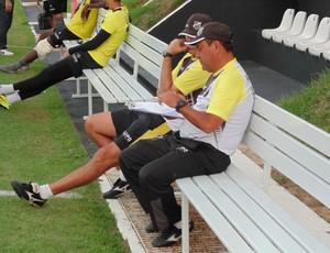 Zé Teodoro - técnico do ABC (Foto: Jocaff Souza/GloboEsporte.com)
