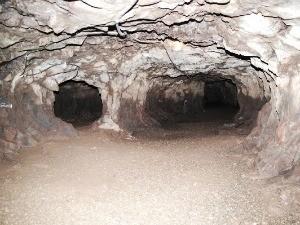 Galeria subterrânia mina Ametista do Sul RS Nossa Terra (Foto: Prefeitura de Ametista do Sul/Divulgação)