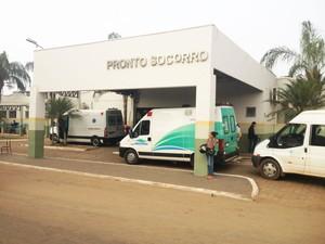 Hospital de Pronto Socorro João Paulo II (Foto: Toni Francis/G1)
