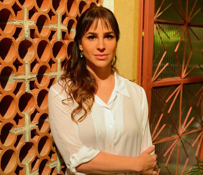 Larissa dá vida à desafiadora personagem Gisela em 'A Regra do Jogo' (Foto: Pedro Carrilho / Gshow)