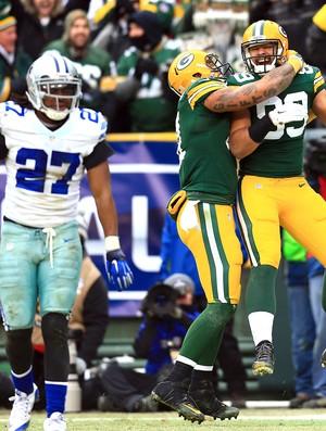 Richard Rodgers (89), Green Bay Packers e Dallas Cowboys NFL (Foto: Reuters)